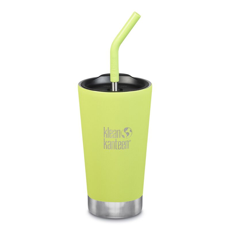 Klean Kanteen Vacuum Insulated Tumbler 16oz -  lightgreen