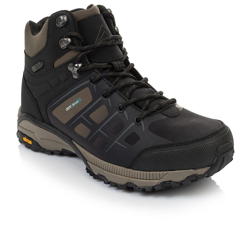 K-Way Men's Edge 2 Boot  -  black-khaki