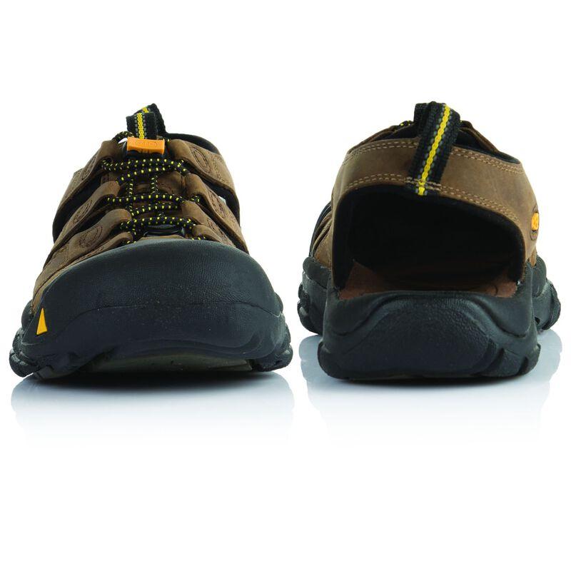 Keen Men's Newport Leather Sandal -  brown