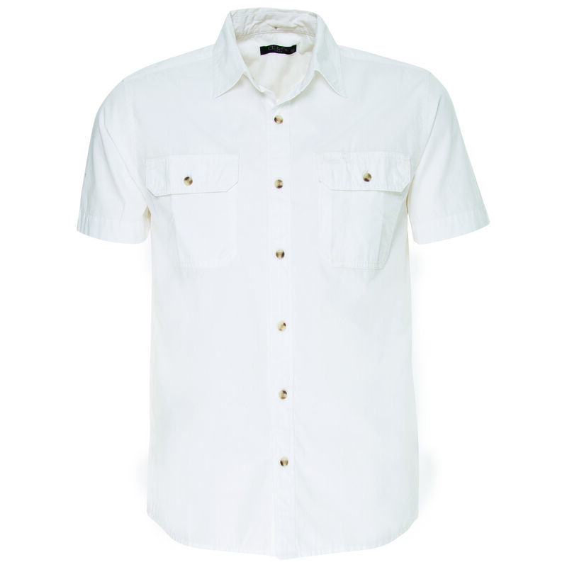 CU & Co Men's Pete Shirt -  white