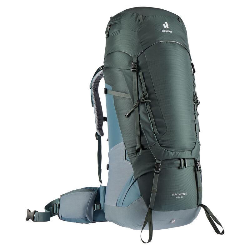 Deuter AirContact 65+10 Travel Pack -  darkgreen