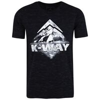 K-Way Men's S19.1 T-Shirt -  black