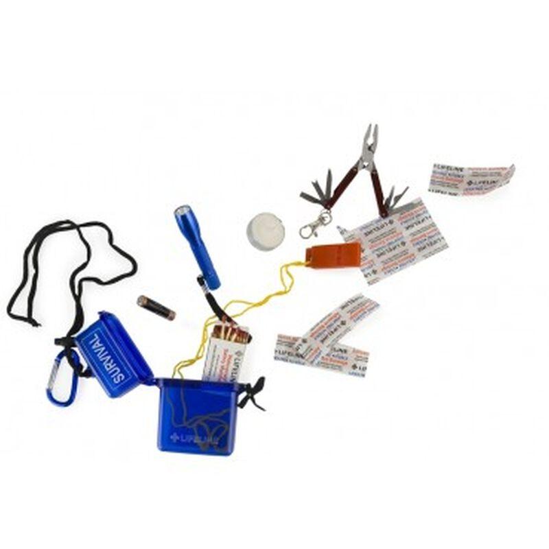Lifeline Waterproof Survival Kit -  assorted