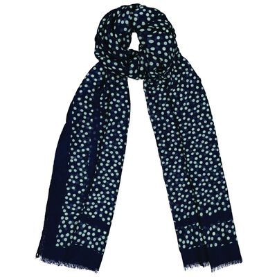 Rare Earth Bijou Dotted Scarf