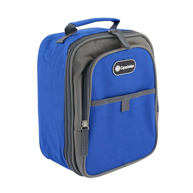 Cape Union Lunch Soft Cooler -  blue-charcoal