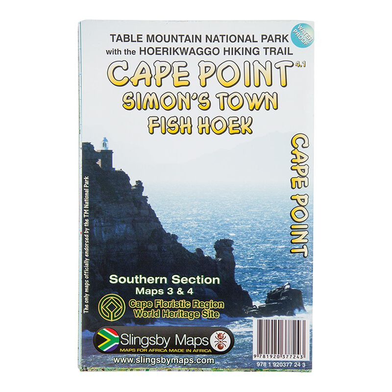 Slingsby Cape Point Waterproof Map -  nocolour