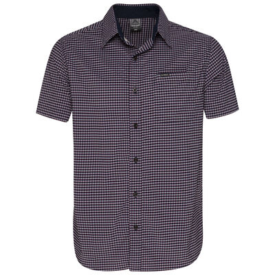 K-Way Men's Explorer Vaillant Short Sleeve Check Shirt