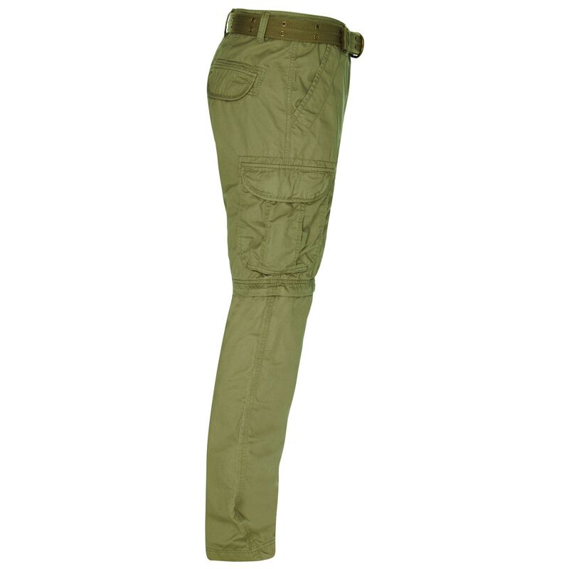 CU & Co Men's Domino Pants -  olive-olive