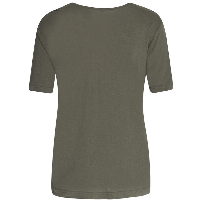 Rare Earth Rose T-Shirt -  olive