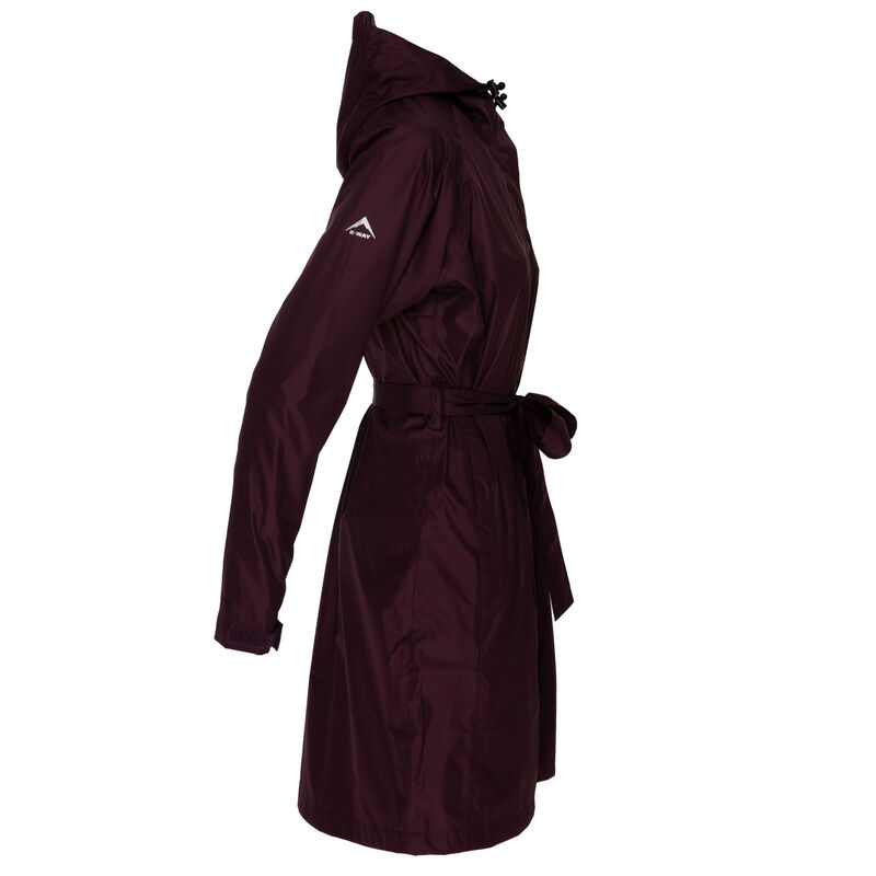 K-Way Women's Austru Rain Coat -  grape