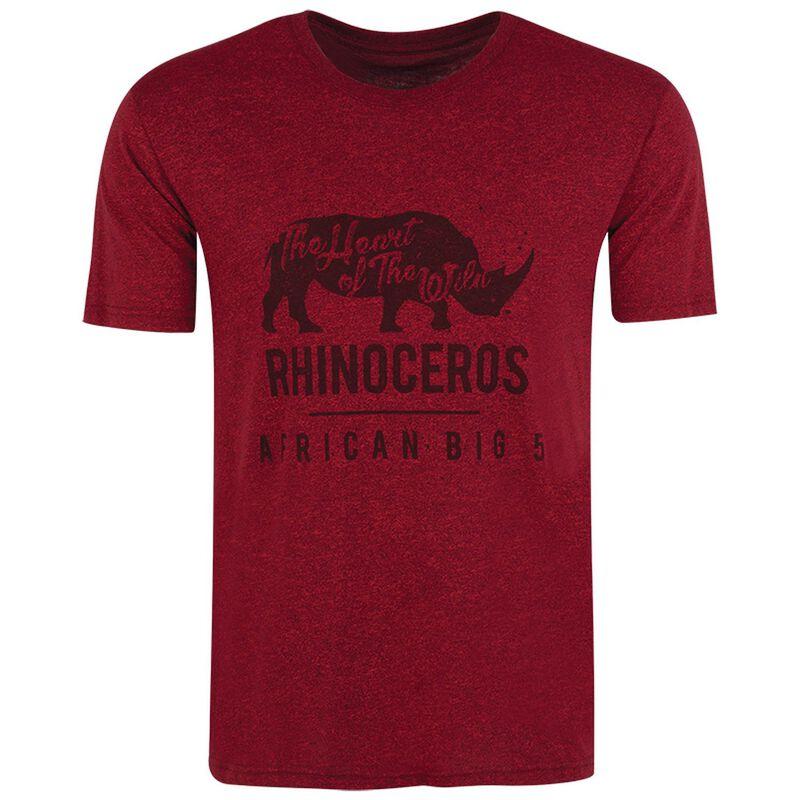 K-Way Men's Tourist Rhino S19.1 T-Shirt -  oxblood
