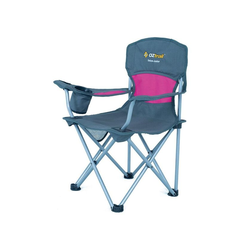 OZtrail Deluxe Junior Arm Chair -  pink