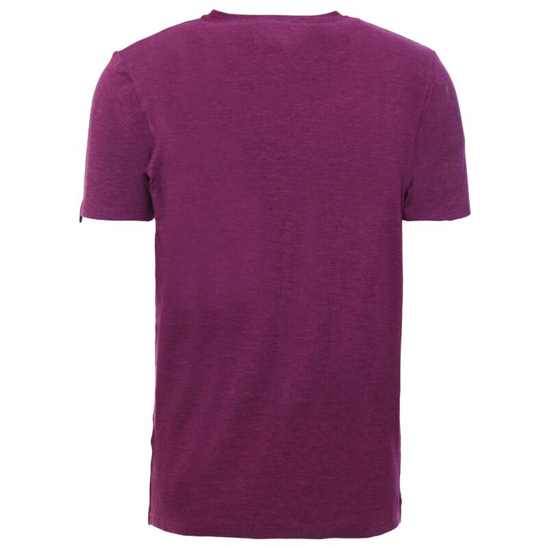 K-Way Men's Thermalator Elite Short Sleeve Vest  -  oxblood