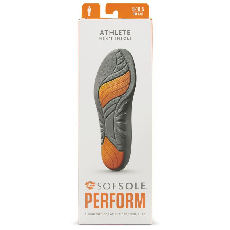 Sofsole Men's Athlete Insole  -  nocolour