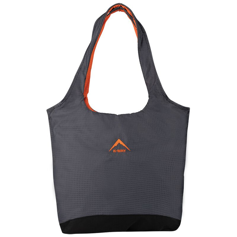 K-Way Tote Bag -  black-orange