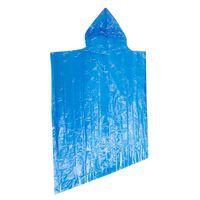 Cape Union Emergency Rain Poncho -  blue
