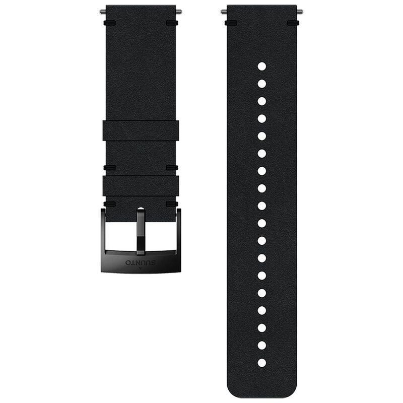 Suunto 24mm Urban 2 Leather Strap -  black