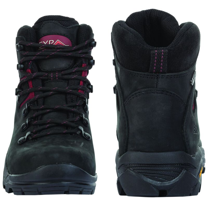 K-Way Expedition Series Women's Kili '16 Boot -  black-burgundy