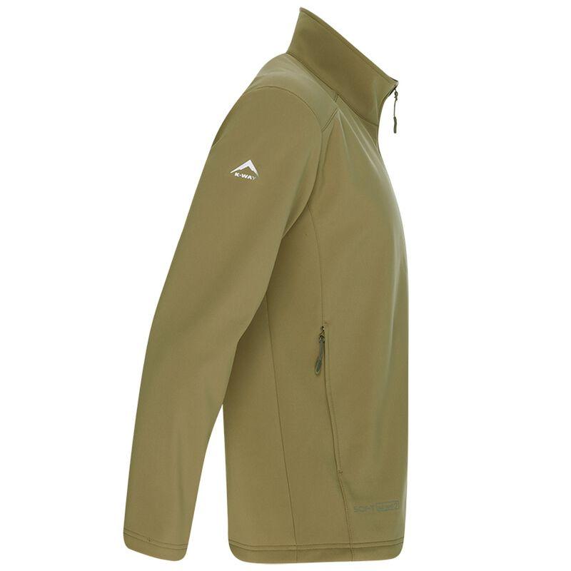 K-Way Men's Felixx Softshell Jacket -  khaki