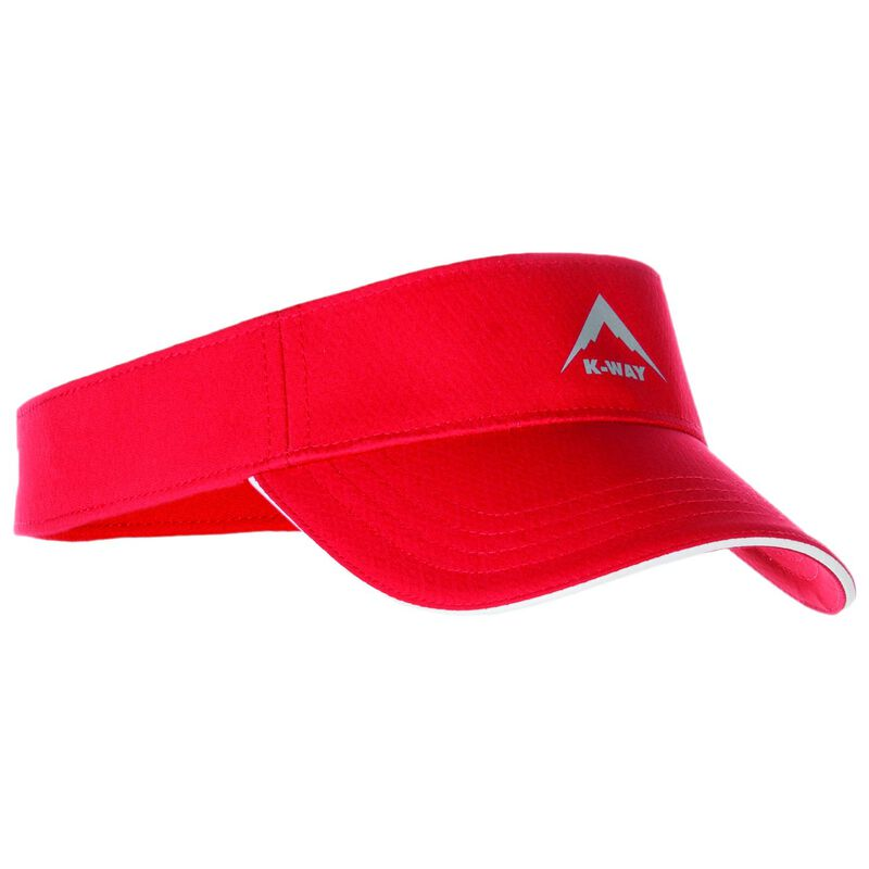 K-Way Flash Visor Cap -  red