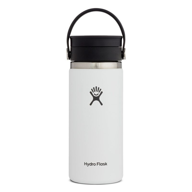 Hydroflask 473ml Wide Mouth Flex Sip Lid Coffee Mug -  white