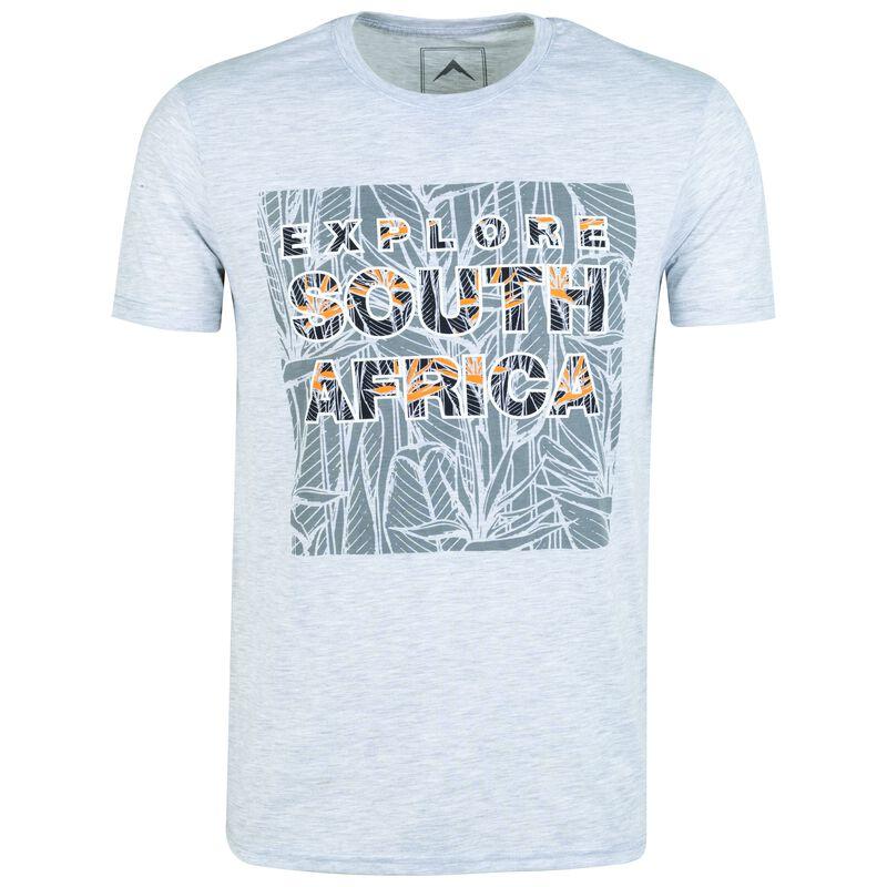 K-Way Men's Tourist SA S19.1 T-Shirt -  silvergrey