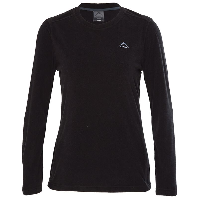 K-Way Women's Iris '17 Crewneck  -  black