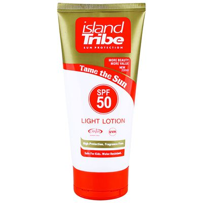 Island Tribe SPF 50 Light Lotion 200ml