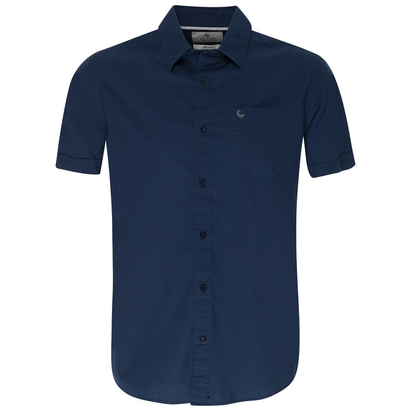 Old Khaki Men's Regular Fit Ali Shirt -  navy