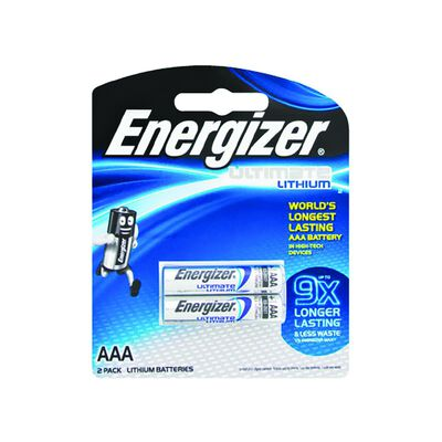 Energizer Lithium e2 AAA Batteries
