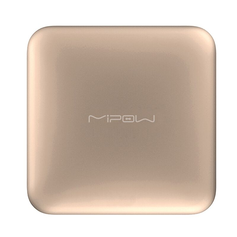 MiPow Power Cube 10000 with 8pin Connector -  gold