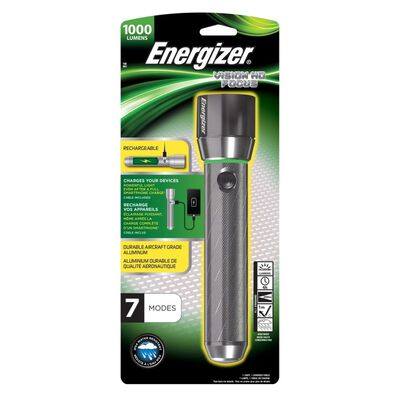 Energizer® Vision HD Rechargeable Metal Torch