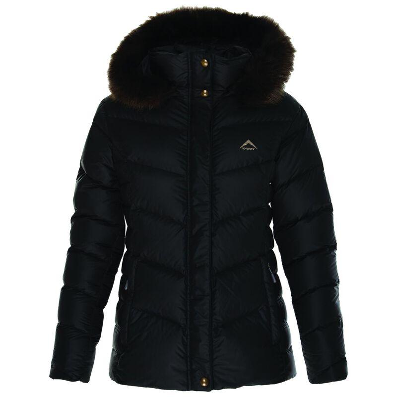 K-Way Women's Elara Down Jacket  -  black
