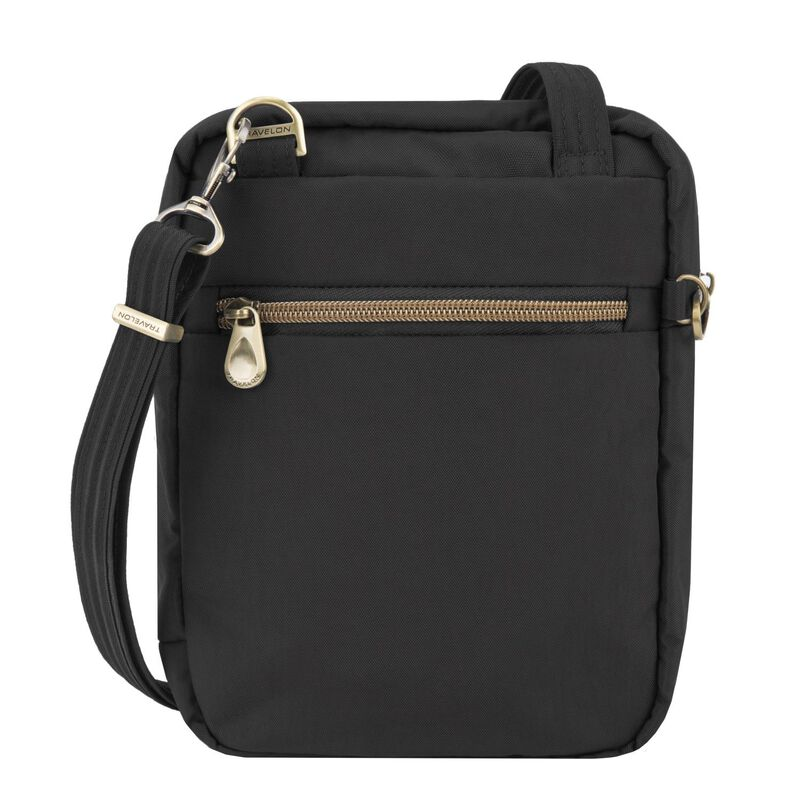 Travelon Anti-Theft Signature Slim Day Bag -  black
