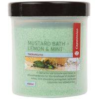 Cape Union Lemon & Mint Mustard Bath  -  nocolour