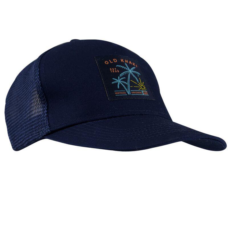 Old Khaki Men's Alessi Island Embroidery Trucker Peak Cap -  dc5743