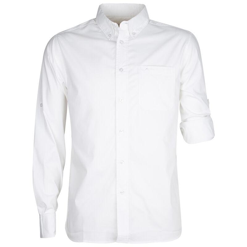 K-Way Men's Explorer Rawda Long Sleeve Shirt -  white