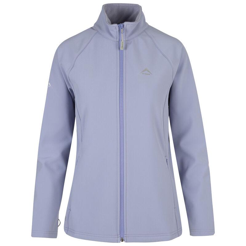 K-Way Women's Mira '19 Softshell Jacket  -  periwinkle