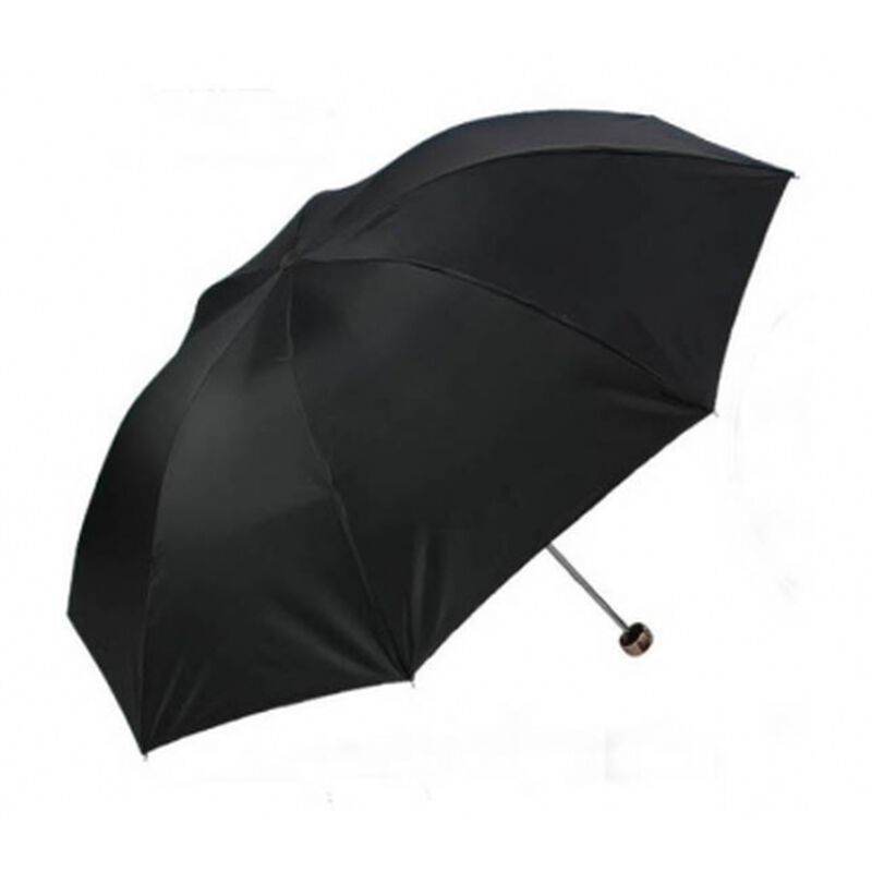 Totes Travel Umbrella -  black