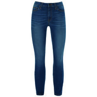Poppi Women's Power Curvy Skinny Denim -  lightblue
