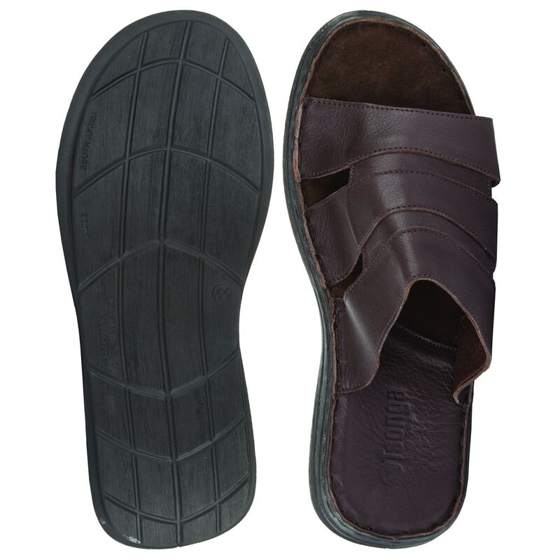 Tsonga Men's Dukuza Sandal -  chocolate