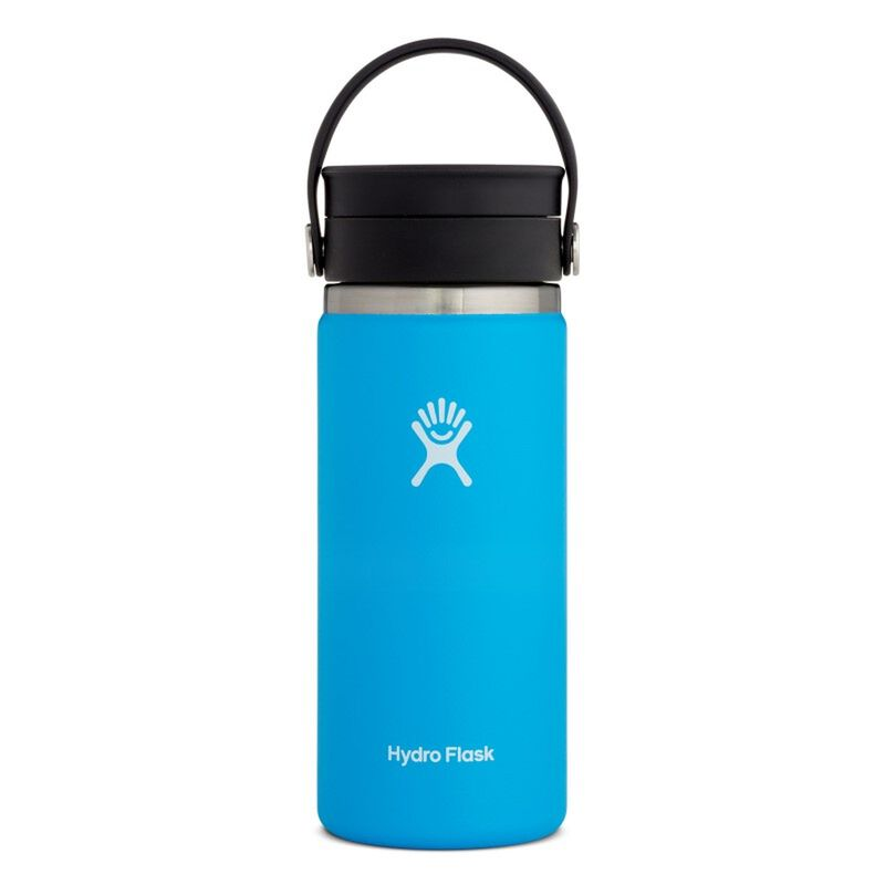Hydroflask 473ml Wide Mouth Flex Sip Lid Coffee Mug -  lightblue