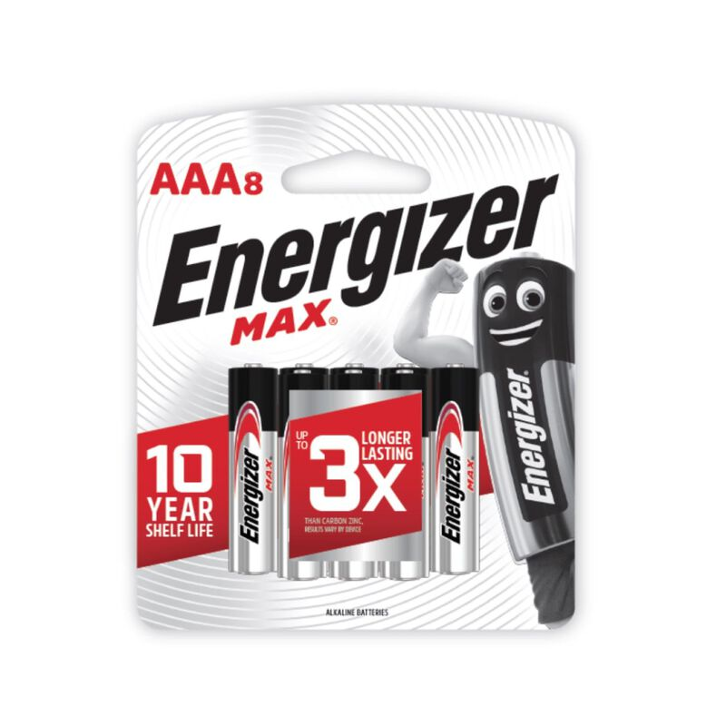 Energizer Max AAA 8 Pack -  nocolour