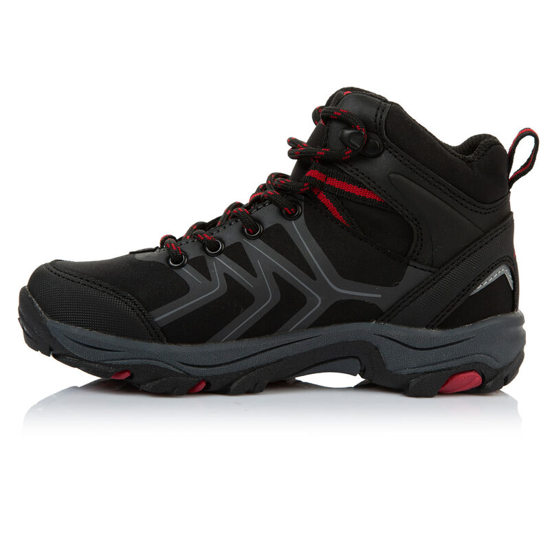K-Way Kids Amazon Mid Boot  -  black-red