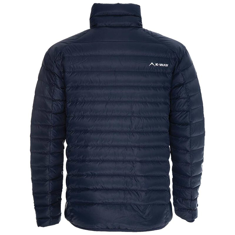 K-Way Men's Drake '18 Down Jacket  -  navy-navy