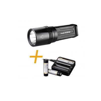 Fenix TK35 UE - LED Flashlight + Battery Kit