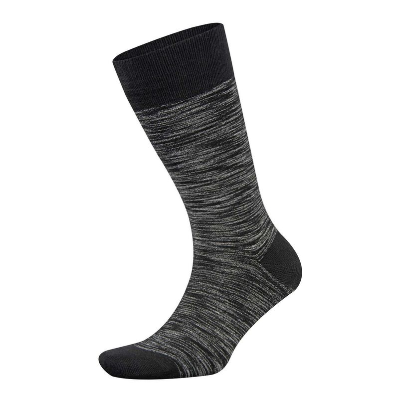 Falke Time Tainted Anklet Sock -  black-grey