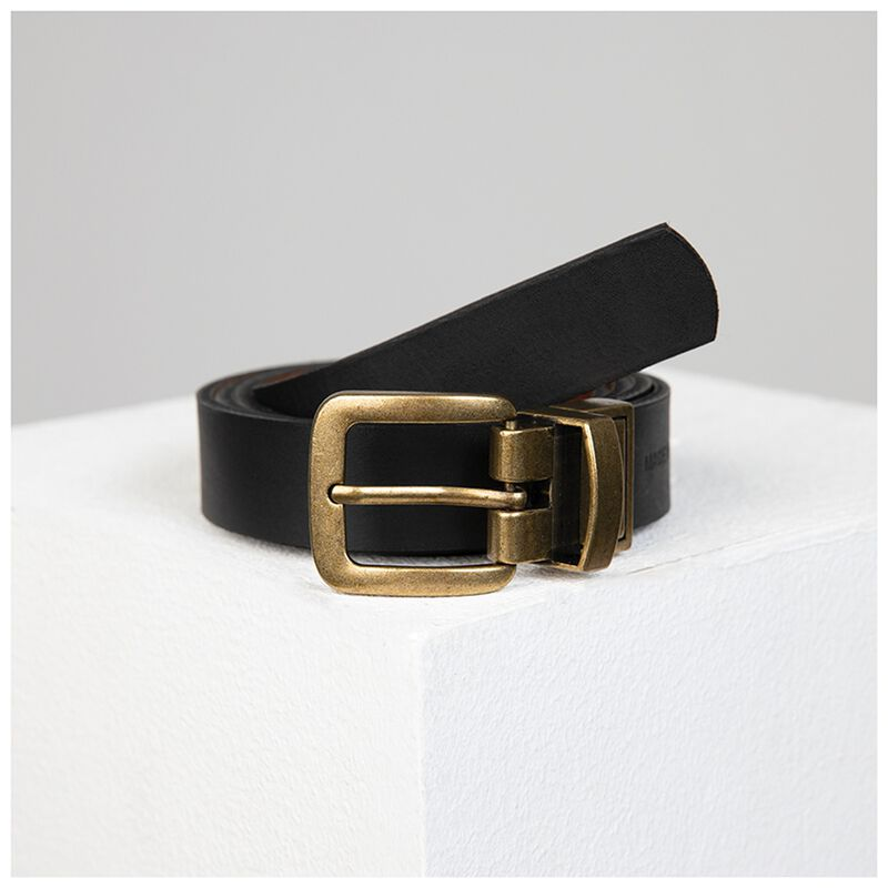 Sue Reversible Belt -  tan-black