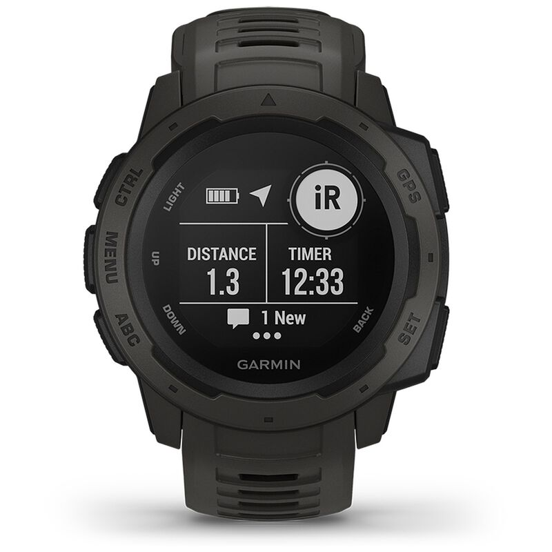 Garmin Instinct Fitness Watch -  graphite