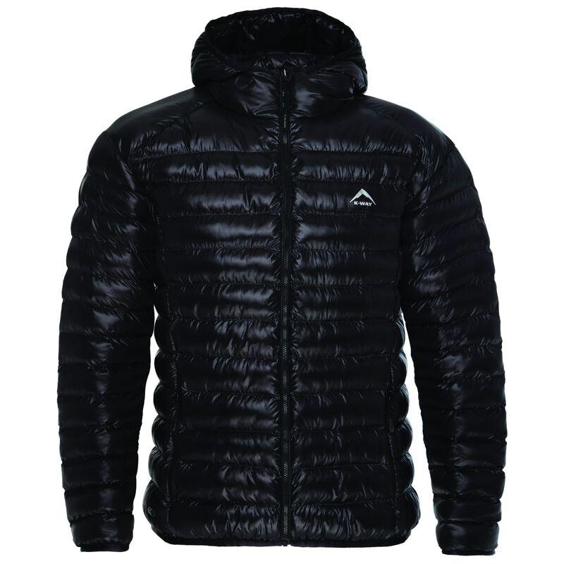 K-Way Men's Rowan Eco Padded Jacket  -  black